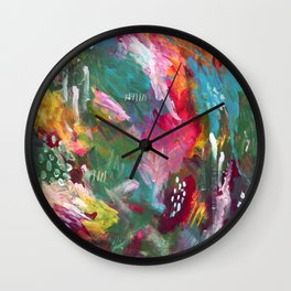 Pull me out of darkness Wall Clock