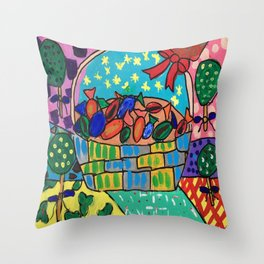 Sweet Basket for you? Throw Pillow