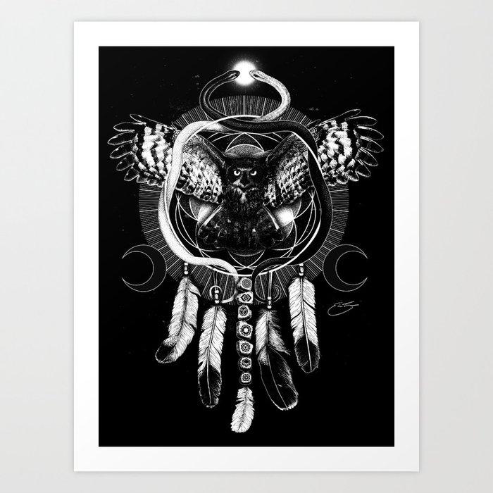 Harmonic Divinity Art Print