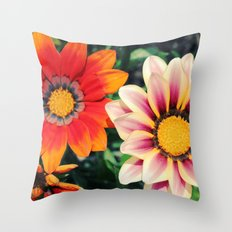 two are better! Throw Pillow