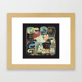 Incantations Framed Art Print