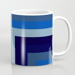 Blue Number 1 Coffee Mug