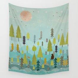 goodnight little sunshine Wall Tapestry