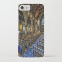 christ iPhone & iPod Cases featuring Christ Church by Ian Mitchell