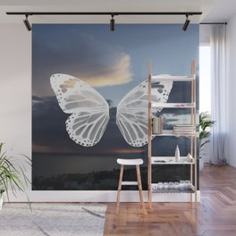 Butter wings Wall Mural