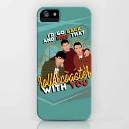 Jonas Brothers POSTER / CARD / WALLPAPER iPhone Case