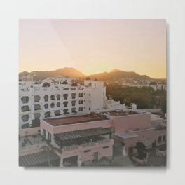 Sunset in Cabo San Lucas, Mexico Metal Print