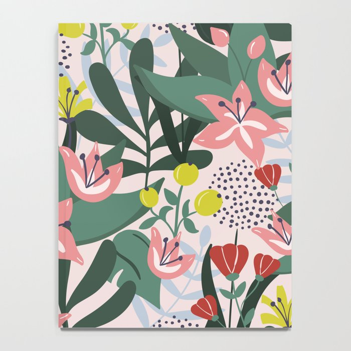 Lush Florals Notebook