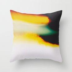LightLeak Throw Pillow