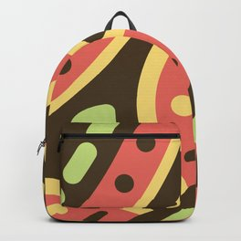 Abstract Sweets Composition Pattern Backpack