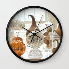 Oh My Gourd, Its Fall Wall Clock