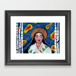 The Lily of the Mohawks Framed Art Print