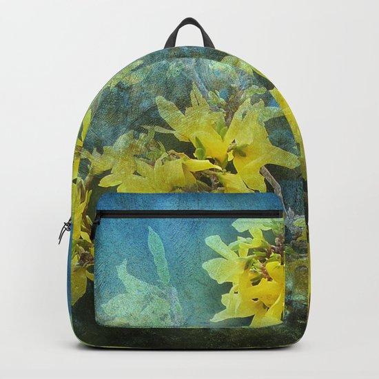 Dramatic Forsythia Backpack
