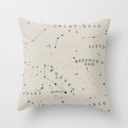 Constellation I Throw Pillow