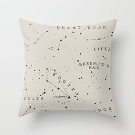 Constellation I Throw Pillow