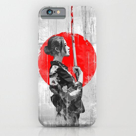 Samurai Girl iPhone & iPod Case