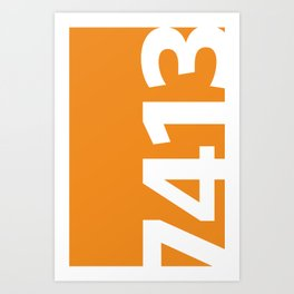 7413 Art Print