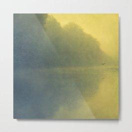 soft reflection Metal Print
