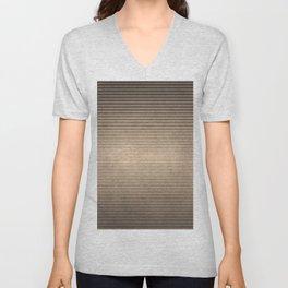 Wavy Metal Texture Unisex V-Neck