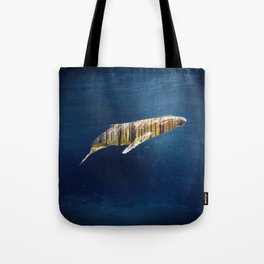 A Whale Dreams of the Forest Tote Bag