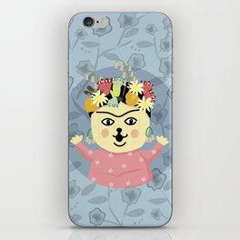 Peanut Dog_Frida iPhone Skin