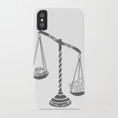 Grayscale Slim Case iPhone X