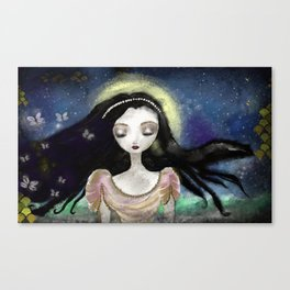 Blue Autumn Canvas Print