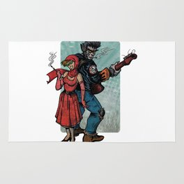 Ginny & Clutch (Little Red Riding Hood Reloaded) Rug
