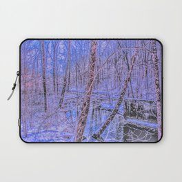 the sound of snow Laptop Sleeve