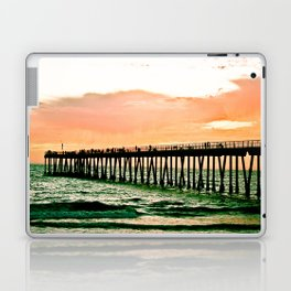 Hermosa Pier (1) Laptop & iPad Skin