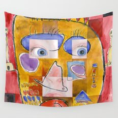 I feel playful Wall Tapestry