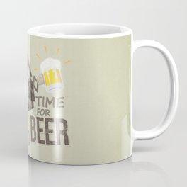 TIME FOR BEER Coffee Mug