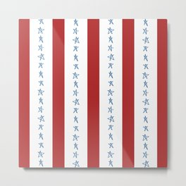 Stars and Stripes Metal Print