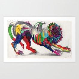 Chimera Art Print