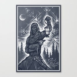 Winter Wanderer Canvas Print