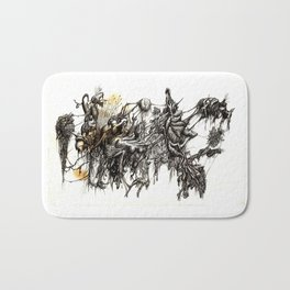 Vile Cosmos (of which we are part) by Brian Benson Bath Mat