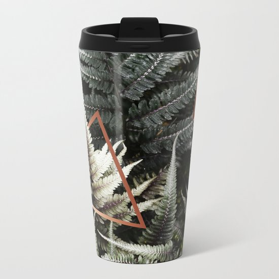Fern + Copper #society6 #decor #buyart Metal Travel Mug
