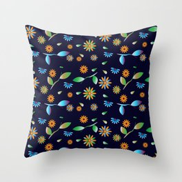 Traditional Inspiration Pattern I Throw Pillow
