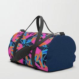 Square palms Duffle Bag