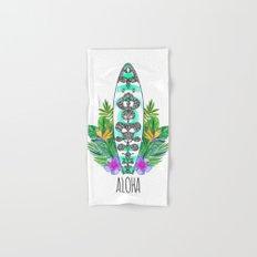 Surf style Aloha Hand & Bath Towel