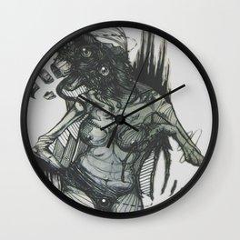 Screech. Wall Clock