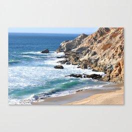CALIFORNIA COAST - BLUE OCEAN Canvas Print