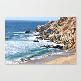 CALIFORNIA COAST - BLUE OCEAN Canvas Print