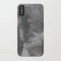 glitch iPhone & iPod Cases featuring Glitch by Amélie Haeck