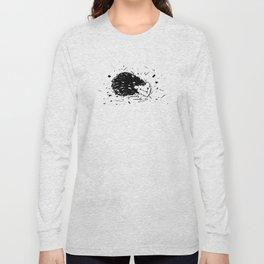 Adorable Hedgehog No.3a by Kathy Morton Stanion Long Sleeve T-shirt