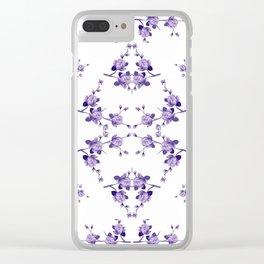 Souplast Violeta Clear iPhone Case