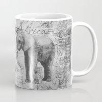 african Mugs featuring African Spirit by LebensART