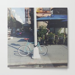 Bicycle Metal Print