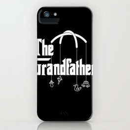Mens The Grandfather Funny Gift for Grandpas product iPhone Case