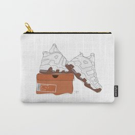 Sneakers Uptempo White Gum Carry-All Pouch